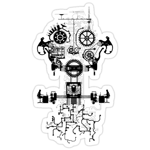 Ghost In The Machine by zomboy