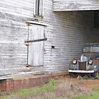 Old Truck & Barn by James Davidson
