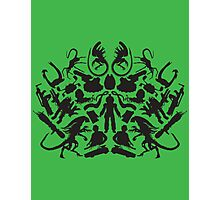 Alien Iconic Shapes Photographic Print