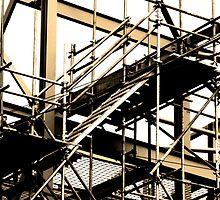 Scaffold by Simon Bowker