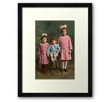 Americana - Molly, Solly and Bertie Framed Print