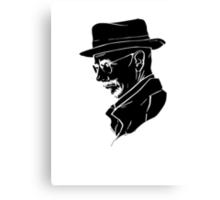 Walter White Heisenberg Canvas Print