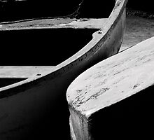Wooden boats by Anne Staub
