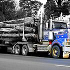 Log Truck 2 by wiccanrider
