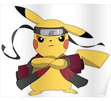 Pikachu Naruto Poster
