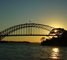 Sydney Harbour Bridge,  by Of Land & Ocean - Samantha Goode