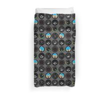 Flight Instruments Duvet Cover