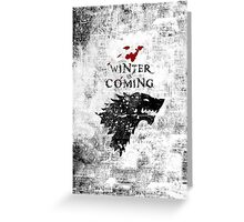 Grunge Cover Greeting Card