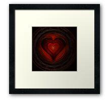 Heart n. 42 Framed Print