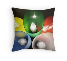 Colorful light: II  Throw Pillow