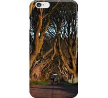 Dark Hedges Overbearing iPhone Case/Skin