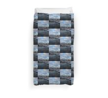 Snow Sails Here Duvet Cover