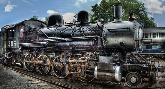 Baldwin 2-8-0 Consolidation Locomotive by Mike  Savad