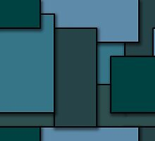 Blocks (BlueGreen) by myself22889