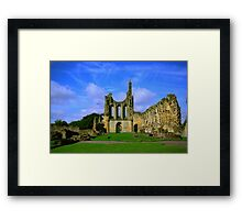 Byland Abbey  North Yorkshire Framed Print
