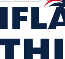 Patriots # Inflate This Sticker