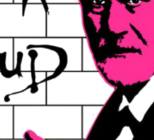 Pink Freud 2 Sticker