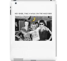 - DAVID - IGGY - LOU - HEROIN - iPad Case/Skin