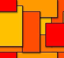 Blocks (RedOrange) by myself22889