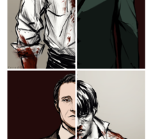 Hannibal - The Tables Are Turning Sticker