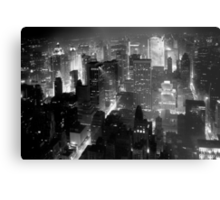 Sleepless In Manhattan Metal Print