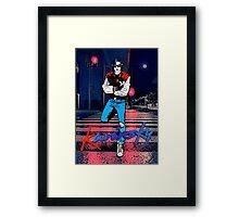 Kavinsky Down Town Framed Print