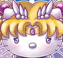 Hello Senshi Sticker