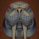 the walrus is my favorite spirit animal. by resonanteye