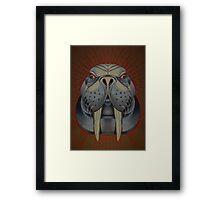 the walrus is my favorite spirit animal. Framed Print