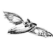 Flying Owl by BorisBurakov