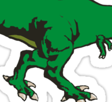 t-rex gn Sticker