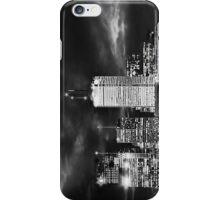 Toronto Cityscape- Black & White iPhone Case/Skin