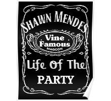 Shawn Mendes Jack Daniels Poster