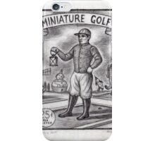 Miniature Golf iPhone Case/Skin