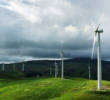 Te Apiti Wind Farm No. 1 by Derek Kan