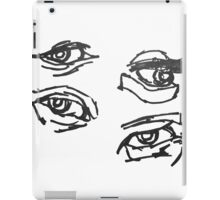 Freshmen year Beginning art class pray with me iPad Case/Skin
