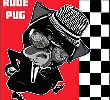 rude pug. by darklordpug
