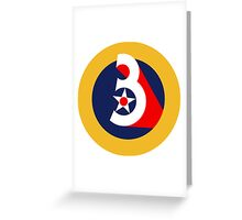3rd Air Force  WWII  USAAF Greeting Card