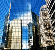 Urban Reflections II by Leanna Lomanski