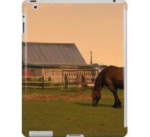 Sunset at Hatfield Farm iPad Case/Skin