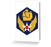 6th Air Force  WWII  USAAF Greeting Card