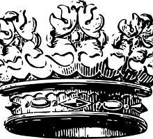 Vintage Crown by Vana Shipton