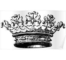 Vintage Crown Poster