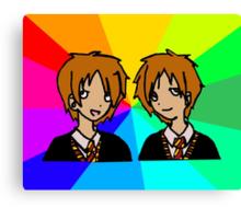 Harry Potter | Weasley Twins Canvas Print
