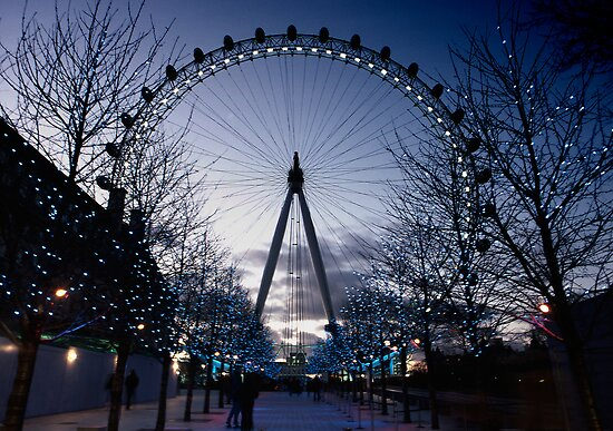 The London Eye by Lea Valley Photographic