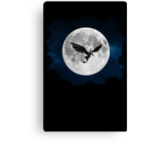 How to train your dragon - Night flight Canvas Print