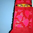Red Burkha by brettonarts