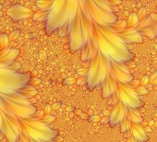 Fractal Feathers by Fran Riley