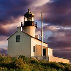 Cabrillo National Monument Lighthouse by Philip James Filia