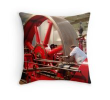 Dependence red-inay-carpenter .. Throw Pillow